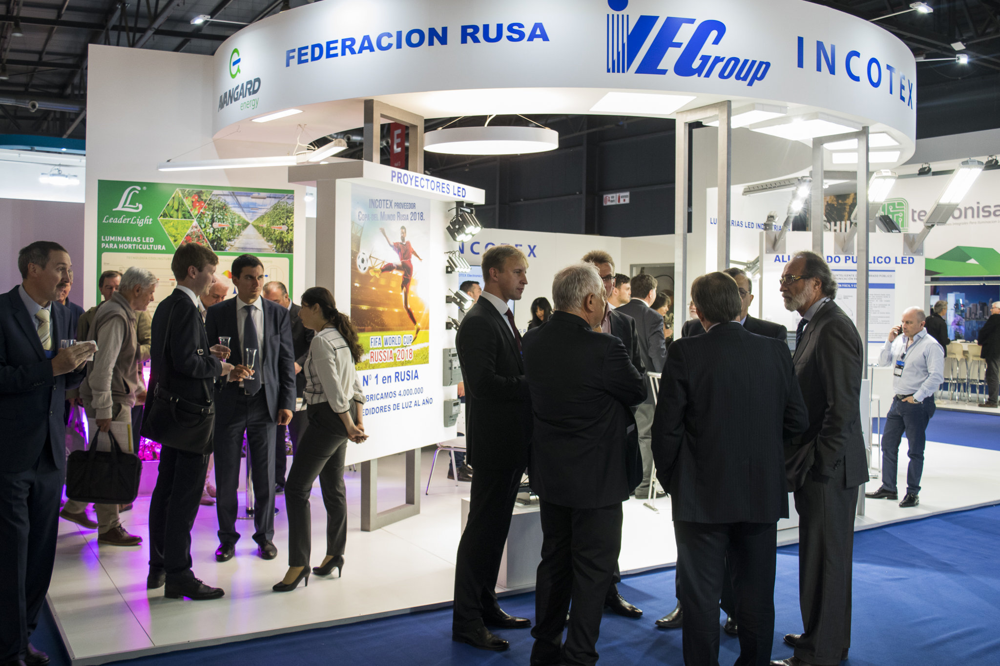 Incotex Electronics Group, Russian group of companies, leader in LED lighting, showcased its products at BIEL Light + Building Buenos Aires